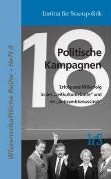 Politische Kampagnen - Institut für Staatspolitik