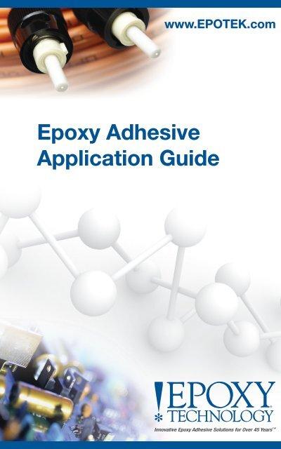 epoxy Adhesive Application Guide - Epoxy Technology