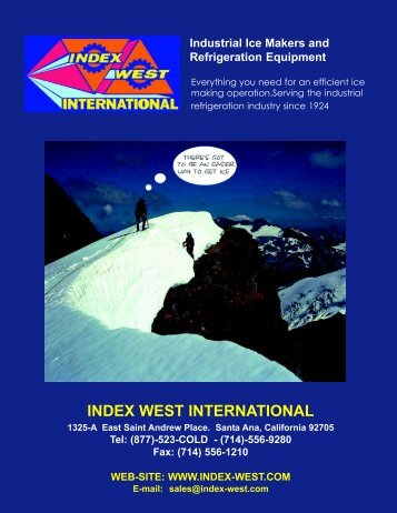 index catalog 16 - Index West International