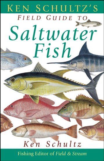 Ken Schultz's Field Guide to Saltwater Fish - Macaw Pets store