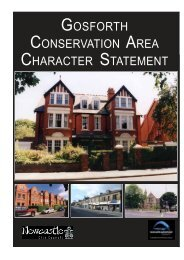 gosforth conservation area character statement - Newcastle City ...