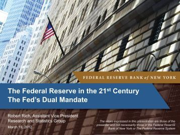 Slides - Federal Reserve Bank of New York