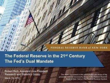 Slides - Federal Reserve Bank of New York