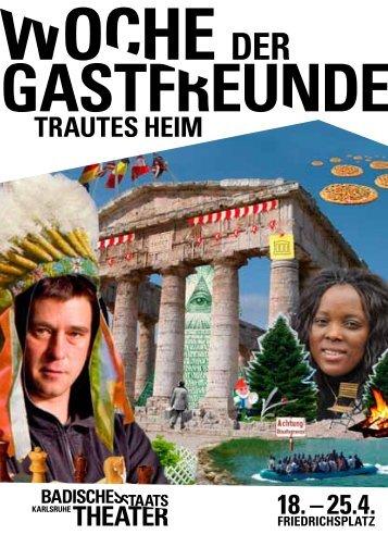 gastfreund woche der gastfreunde trautes heim - Badisches ...