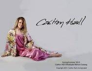 Spring/Summer 2013 Carlton Hall Wholesale Market Catalog - Weebly