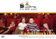 Flyer 2012 download (.pdf) - Bim Bam Bino