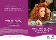 Protégé Training Centre for Hair & Beauty - Home: Barrier Reef ...