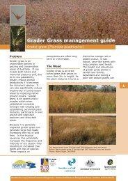 Grader Grass management guide