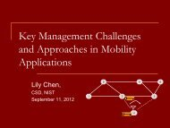 Wireless/Mobile Applications