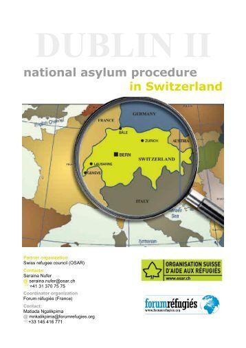 national asylum procedure in Switzerland - Global Detention Project