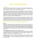 national asylum procedure in Switzerland - Global Detention Project - Page 2