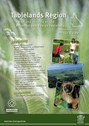 Tablelands Region visitor guide - Department of National Parks ...