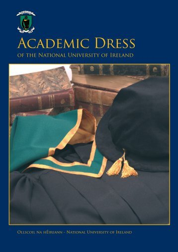 academic dress - National University of Ireland