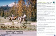 The 1959 PCT Thru-ride of Don and - Pacific Crest Trail Association