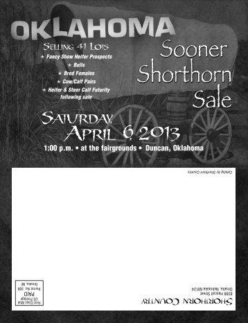 Sooner Classic Catalog - Shorthorn Country