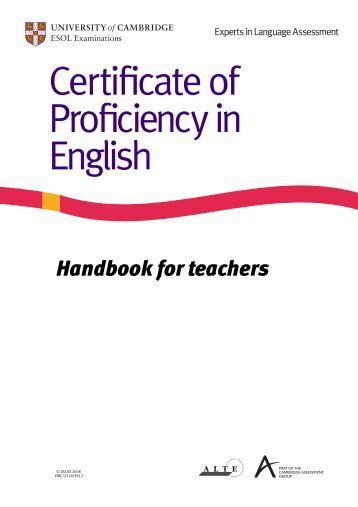 Cambridge esol for Cpe certificate template