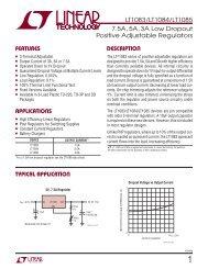 LT1083/LT1084/LT1085 - Linear Technology