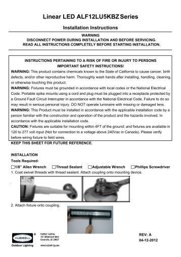 led flexible linear • dl flex up static series jesco lighting linear led alf12lu5kbzseries hubbell outdoor lighting