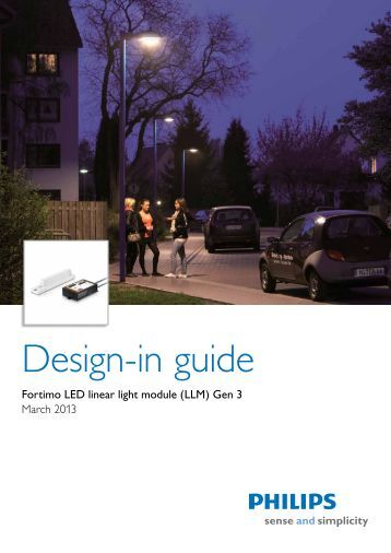 Design-in guide - Philips Lighting