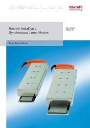 Rexroth IndraDyn L Synchronous Linear Motors - Elogia