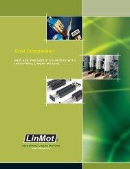 Cost Comparison-Air vs LinMot Linear Motors Brochure - LinMot-USA