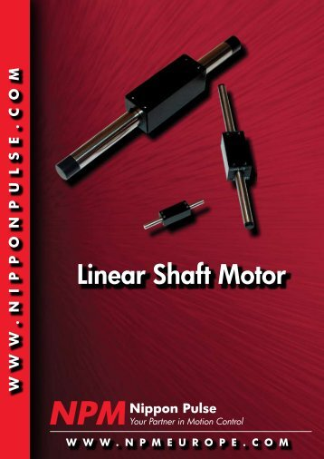 Linear Shaft Motor - Dynetics.nl