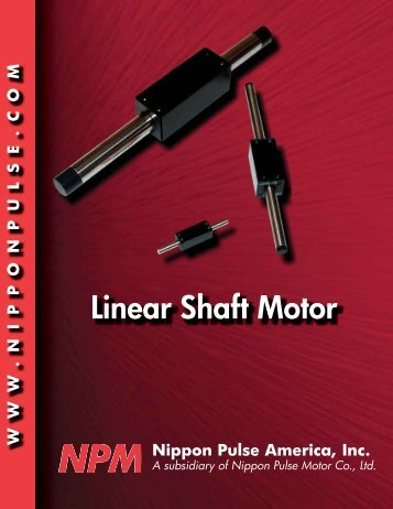 Linear Shaft Motor - Bearing Engineers, Inc.