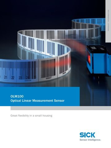 OLM100 Optical Linear Measurement Sensor