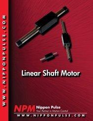 Linear Shaft Motor Catalog - Nippon Pulse