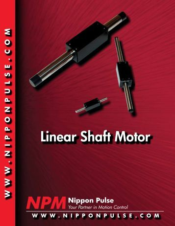 Lincoln for Nippon pulse linear motor