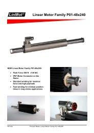 Linear Motor Family P01-48x240