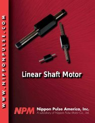 Linear Shaft Motor - Micromech Ltd
