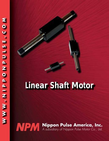 Linear Shaft Motor - Micromech Ltd