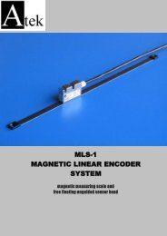 mls-1 magnetic linear encoder system - Plant Control and Automation