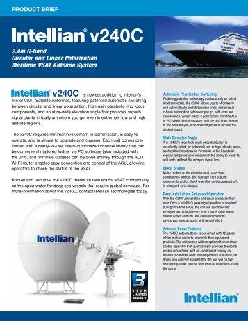 2.4m C-band Circular and Linear Polarization Maritime ... - Intellian