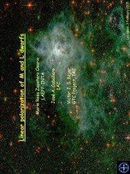 Linear polarization of M and L dwarfs - laeff