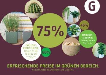 ErfrischEndE PrEisE im grünEn bErEich. - Hydroplant AG