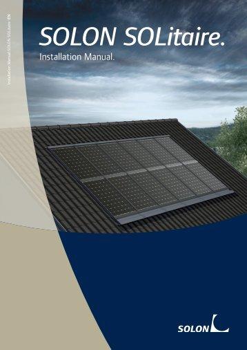 Installation Manual - Solon