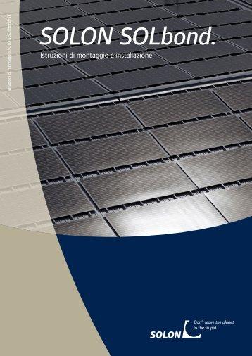 Manuale di installazione - Solon