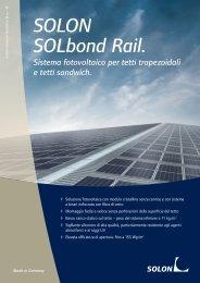 SOLON SOLbond Rail.