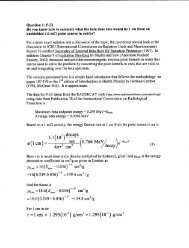 Question on the Calculation of Beta Dose Rate - Health Physics ...
