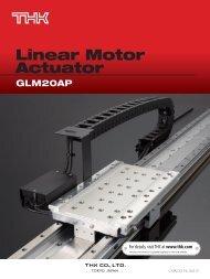 GLM20AP - Linear Motor Actuator - Thk.com