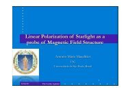 Linear Polarization of Starlight as a probe of Magnetic Field Structure