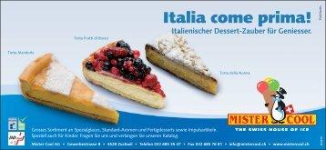 Italia come prima! - Mister Cool AG