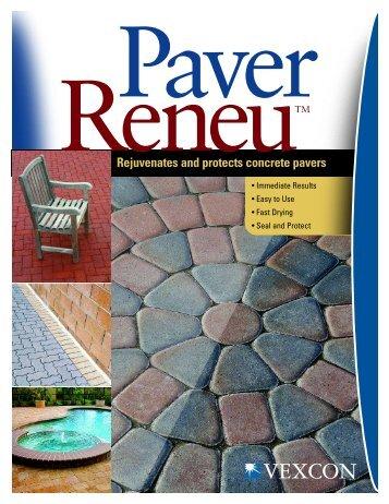 Paver Reneu Bro 8.5x11 - Vexcon Chemicals