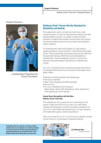 Surgical Gowns… - Kimberly-Clark Health Care