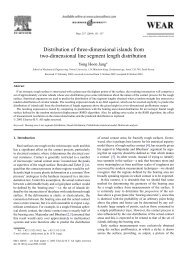 Distribution of three-dimensional islands from two-dimensional line ...