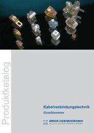 Kabelverbindungstechnik - Einzelklemmen - mitech AG