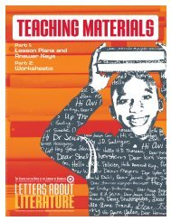 LESSON 4: ASSESSMENT Reading-Writing Worksheet I