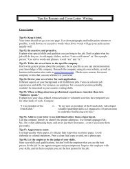 Resume / Cover Letter / Sample Code - Enigma Software ...